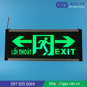 Picture for category Đèn EXIT 2 mặt